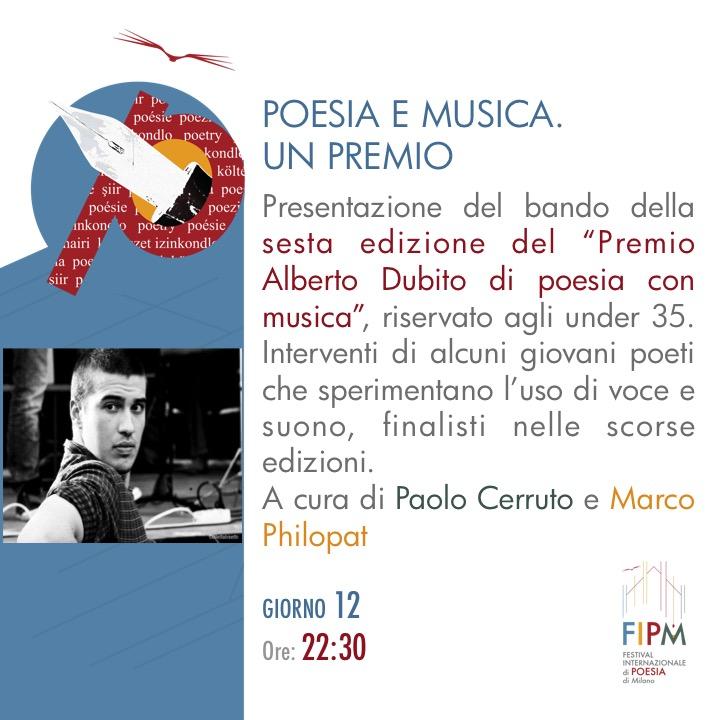 Poesia e musica-Premio