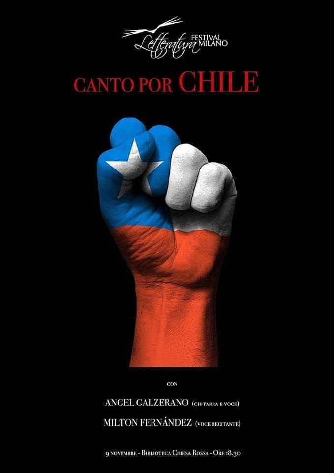 Canto por Chile @ biblioteca Chiesa Rossa