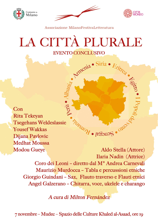 La città plurale: evento conclusivo @ Mudec - Spazio delle culture Khaled al-Asaad