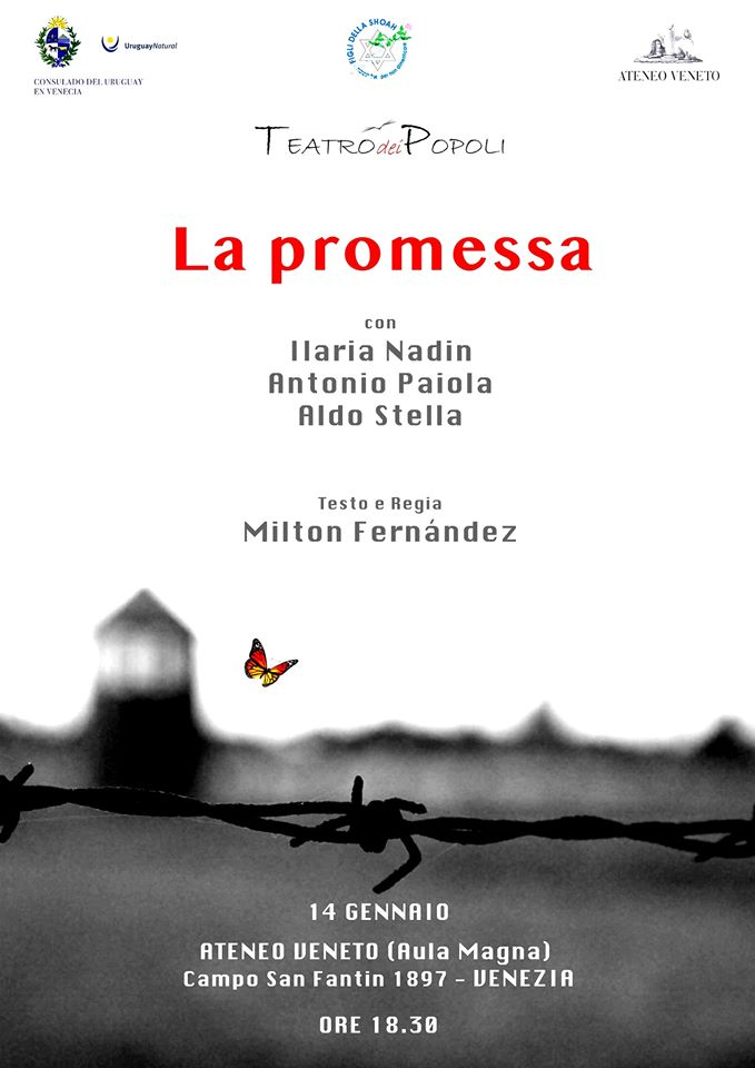 La promessa - Venezia, Ateneo Veneto @ Ateneo Veneto - Aula Magna
